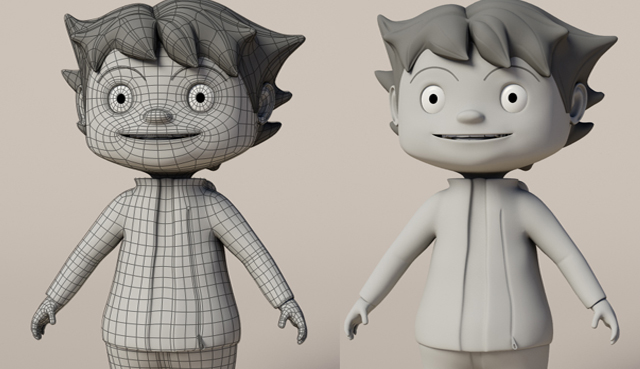 Designing-Fever-3D-Character