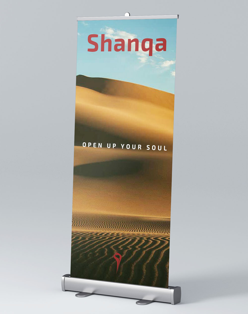 Shanqa Standee Design